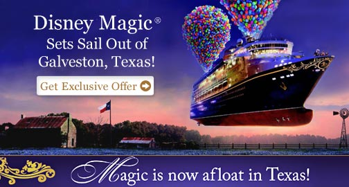 Disney Cruise Line Now Offering Voyages Out Of Galveston Escape - Cruise out of galveston tx