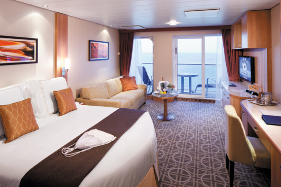 Suite 2158 on Celebrity Reflection, Category TS