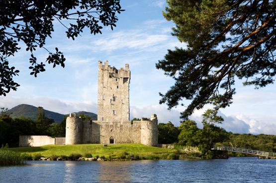 Ross Castle near Killarney, County Kerry, Ireland