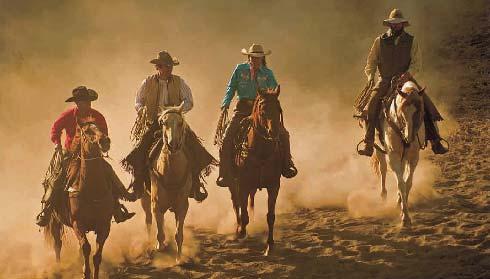 Trafalgar Wild West Family
