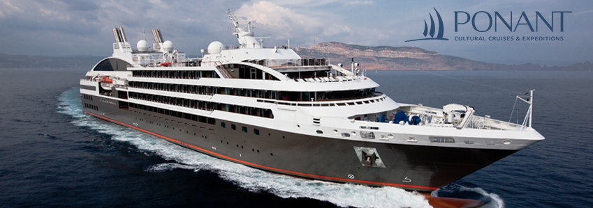 Whether or not this is your first cruise, Ponant wishes to make your experience a magical and unforgettable one.