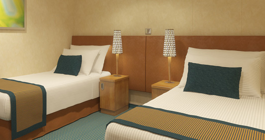 Inside Stateroom - The most affordable cabins tend to be the inside rooms.
