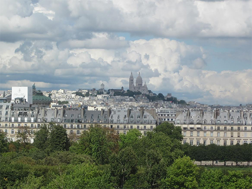 View of Sacré-Cœur and Montmartre from the Musée d'Orsay