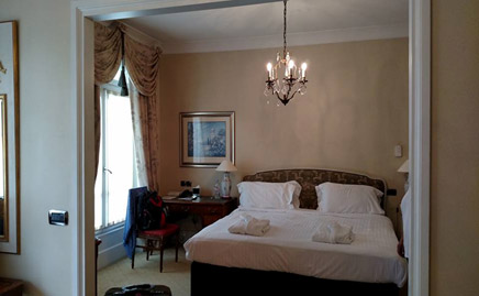 London/Paris Independent Tour- London Hotel