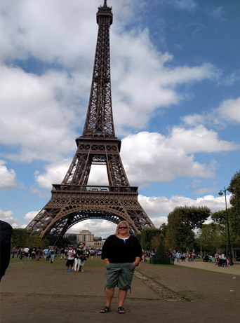 London/Paris Independent Tour- Paris Eifel Tower