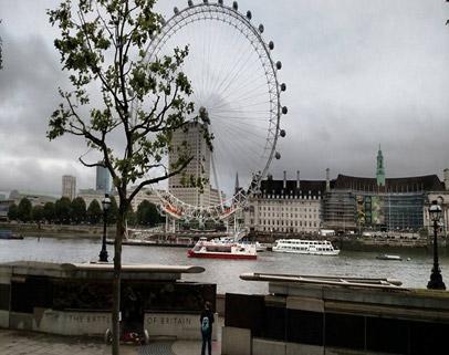 London and Paris Independent Tour- London Eye