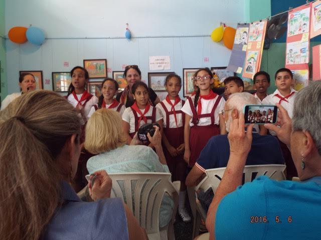 Tauck Cuba- Locals Singing