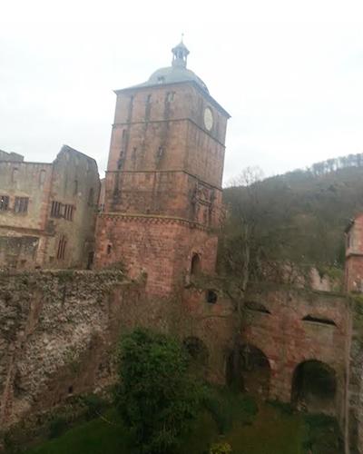 Rhine River Cruise- Heidelberg Castle