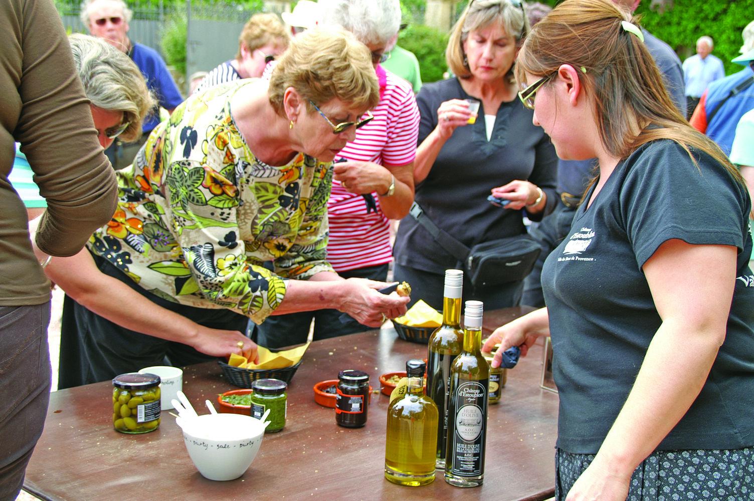 River cruising - Olive Oil Tasting