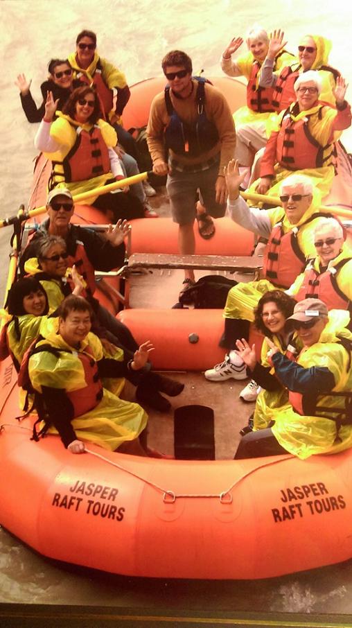 Rafting - Trafalgar Canada