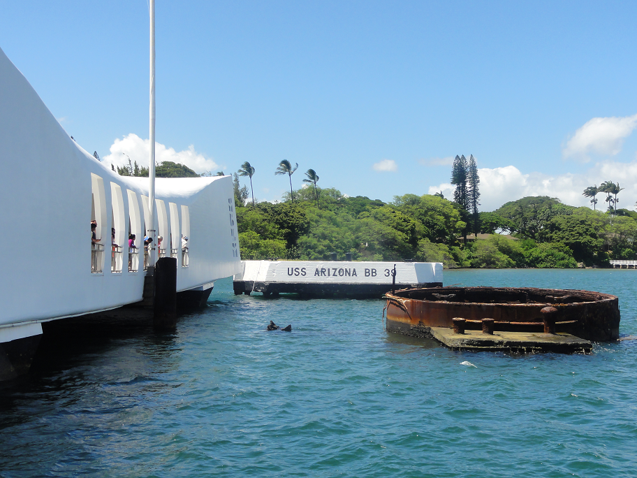 USS Arizona Memorial at Pearl Harbor - Hawaii Trafalgar
