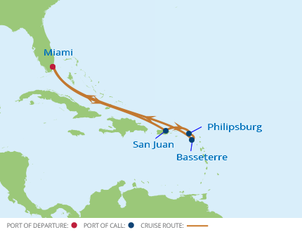 Celebrity Cruises 7 Night Eastern Caribbean Holiday Cruise