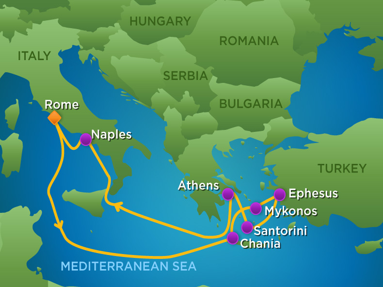 9 Night Greek Isles Cruise Flash Sale Royal Caribbean