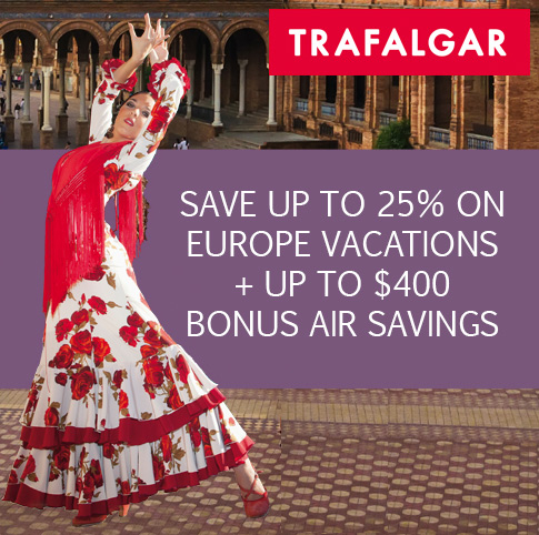 Trafalgar Vacations On Sale