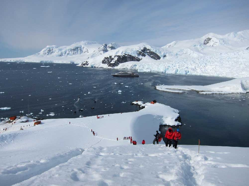 Day in Antarctica