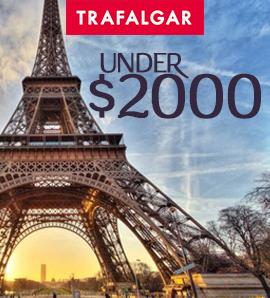 Trafalgar Vacations Under $2000