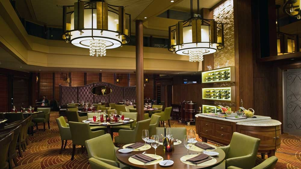 Dining on board Celebrity Cruises