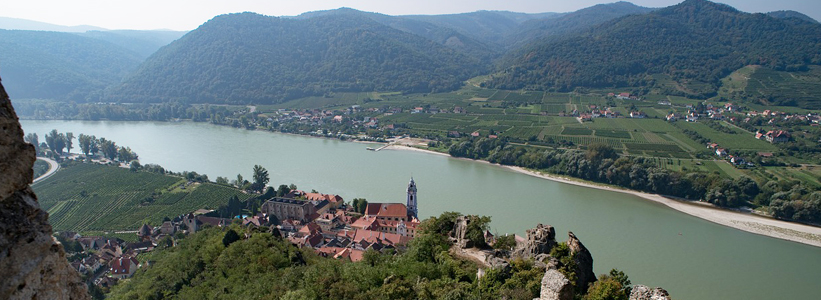 Sightseeing on the Danube