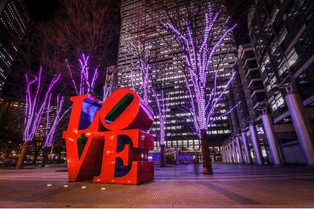LOVE Sculptures Around The World