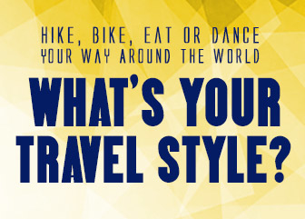 What's your travel style!