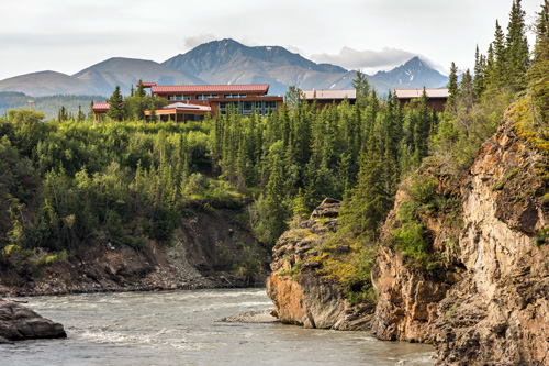 Holland America's resort in Alaska