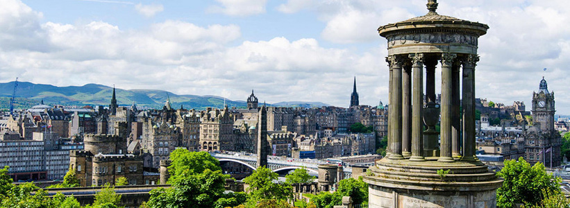 Edinburgh, Scotland With CIE
